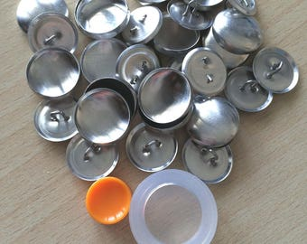 Kit Design button 18 mm (set of 15)