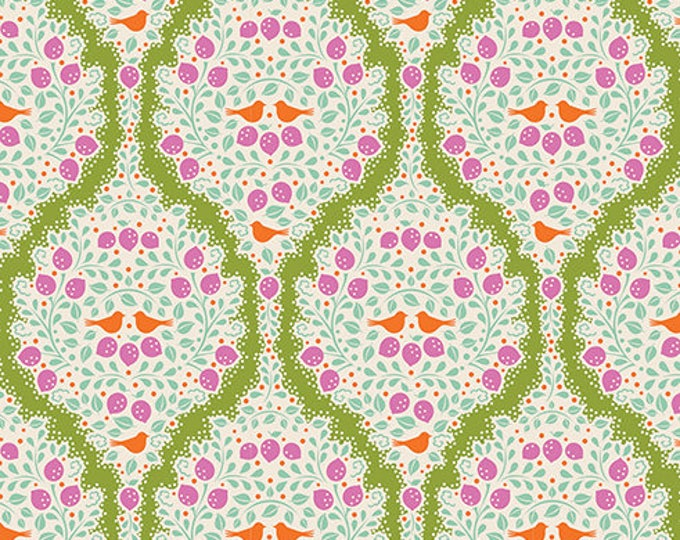 TILDA LEMONTREE - Lemonade Green 100008 - 1/4 yard