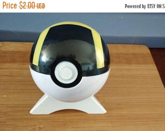 Retrocon Sale - Ultra Ball Plastic 3 inch Pokeball
