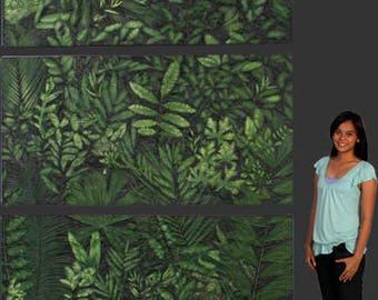 Museum JUNGLE Wall Frieze Back Drop Jurassic Park Terra Nova Movie Studio Prop