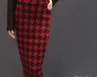 Skirt for Barbie,Muse barbie,LIV dolls, FR, Silkstone - No.0513