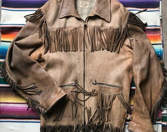Men's Buckskin Jacket