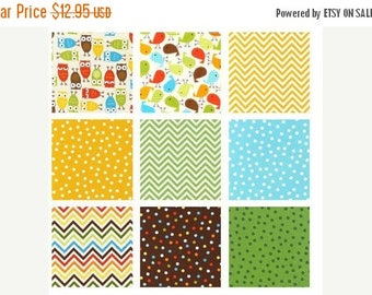"""Summer Sale- Urban Zoo Boy~Cotton Fabric, Quilt, Craft, Charm Pack,42~5"""" squares,Kaufman, Fast Shipping, CP518"""