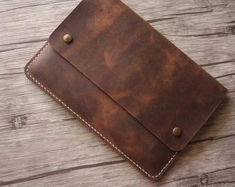 Leather Kindle Voyage Case, kindle Paperwhite Sleeve, Kobo Case, Nook Covers, Kindle Paperwhite 1-4 Custom All e-Reader Sleeve