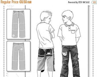 """Summer Sale Pattern trouser kids """"Pitt"""""""