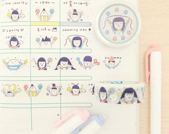 Raise Your Hand - Washi Tape
