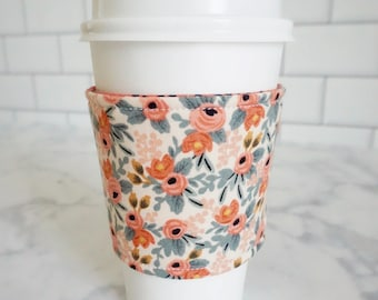SPECIAL EDITION Reusable Coffee Sleeve-Rifle Paper Print