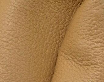 "NZ Deer Sale Glorious Tan Leather New Zealand Deer Hide 4"" x 6"" Pre-cut 3-3 1/2 ounces-8 DE-66101 (Sec. 3,Shelf 5,A,Box 3)"