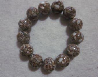Brown & Cream Bracelet