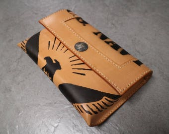 Handstitched Leather Pouch