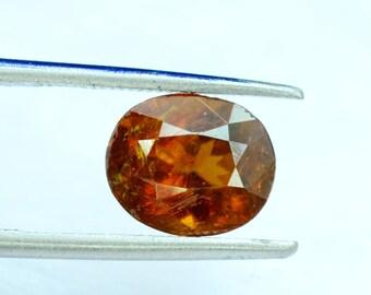 4.25 carats Extremely Rare Bastnasite Loose Gemstone from Zagi Mine Pakistan - 9*8*6 mm