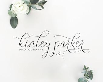 Premade Logo Design | Calligraphy Logo | Photography Logo | Watermark Logo | Boutique Logo | Small Business Logo | PL-087