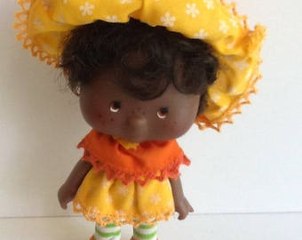 ORANGE BLOSSOM Vintage Strawberry Shortcake Doll