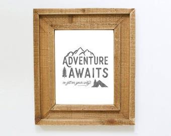 Adventure Awaits - Printable