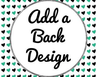 Add a Back Design