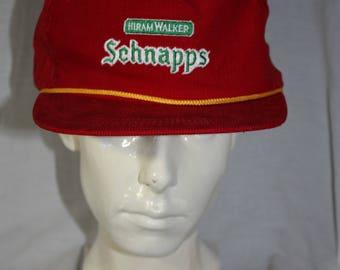 Vintage Corduroy Schnapps HiramWalker