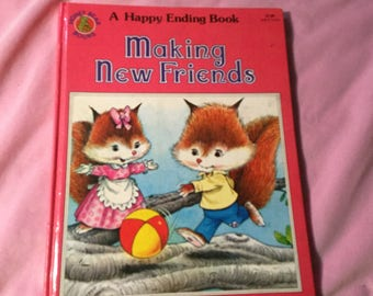 Making New Friends, A Happy Ending Book 1983 Vintage