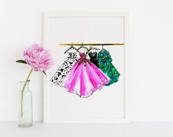 Dresses/Skirts (Fashion Illustration)