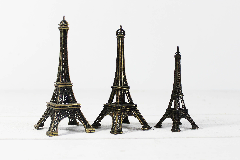 Metal Eiffel Tower Cake Topper Eiffel Tower Centerpiece Paris