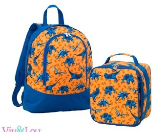 Dinosaur Back to School Dino-Mite Backpack Lunchbox Blanket