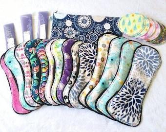 Ultimate Postpartum Ice Pad Set **Free Bonus Hanging Wetbag** Made to Order- 14 Pads, Ice packs, Full set, Pampered Shop