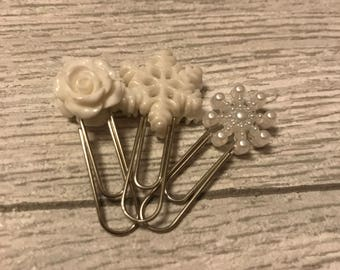 Set of 3 paper clips