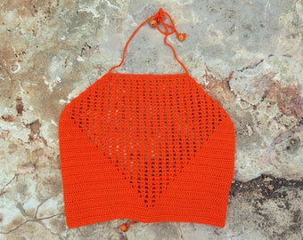 DISCOUNT 50%//////accessory accessory crochet Top///gift/present for you//unique gift//handmade//made in Italy