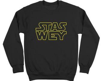 Stas Wey Funny Spanish Mexican Crewneck Sweatshirt DT2205