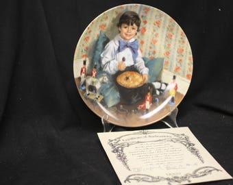John Mc Clleland Reco Little Jack Horner Plate    1982