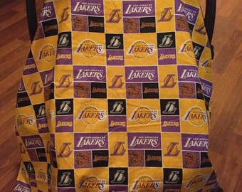 Los Angeles Lakers Canopy/blanlet 2in1