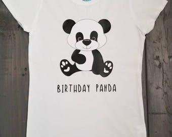Birthday Panda Shirt