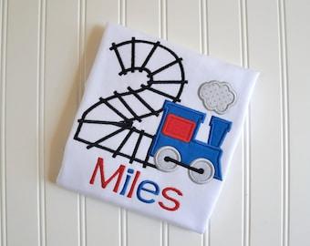 Train Birthday Shirt, Choo Choo I'm Two, Train Birthday, Train Shirt, Train Party, Rail Road Shirt, Train Conductor Outfit, Birthday Shirt