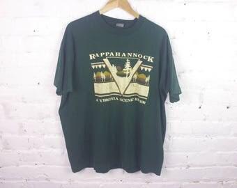 Vintage Rappahannock Virginia state park T-shirt shirt