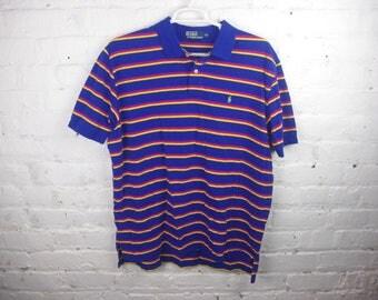 Blue Dad Polo Ralph Lauren shirt vintage