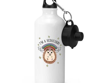 I'm A Hedgicorn Sports Bottle
