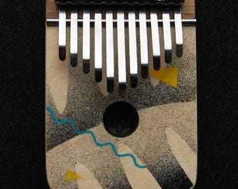 JUNGLE - pentatonic electric kalimba thumb piano G major