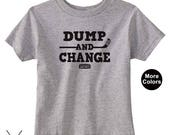 Infant and Toddler Hockey Shirt Dump and Change