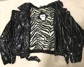100% Vinyl Jacket