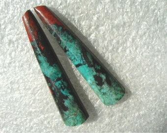 Sonoran Sunrise/Cuprite long matching cabochons
