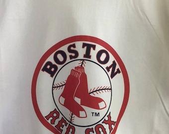 Red Sox Tshirt we can print any name and number on it