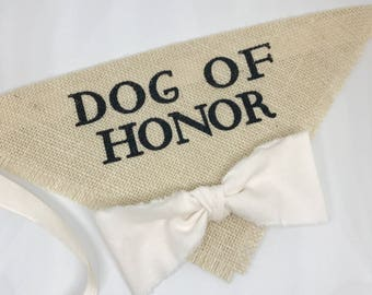 Custom Bow Color Dog Wedding Bandana Engagement Photos Save the Date Cards Dog of Honor Collar Ivory Fabric Bow Tie Proposal Wedding Accesso