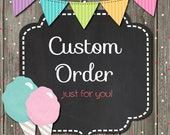 Custom Order for Meagan