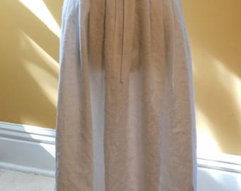18th century Hand-finished Linen Under Petticoat