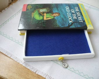 Nancy Drew Personalized Gift Set, Secret Compartment Box, Hollow Book Safe, Gifts for Girls, Made To Order
