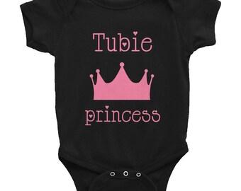 tubie princess Infant Bodysuit