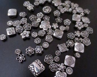 Lot 20 Charm mix silver (cod.new )