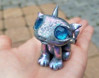 Meet Pearl! Baby dragon, dragon, color change, dragon figurine, fantasy dragon, baby dragons, magical, fantasy creatures, magic, fantasy art