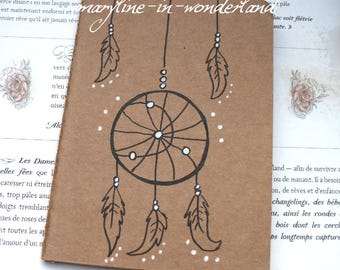 "Sketchbook - Notebook Kraft ""Dreamcatcher"""