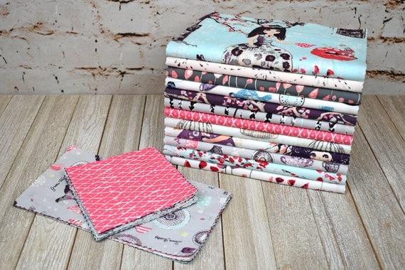 Line Art Quilt Kit : Precut quilt kit for baby girl up premium fabrics
