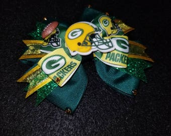 NFL Green Bay Packers Hairbow